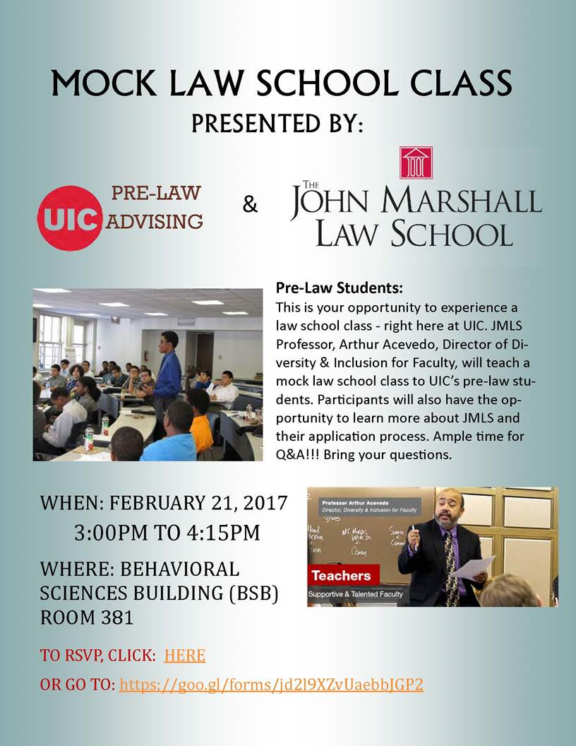 illinois mock law school class at uic and john marshall law illinois mock law school class at uic and john marshall law school information session 2 21 uic