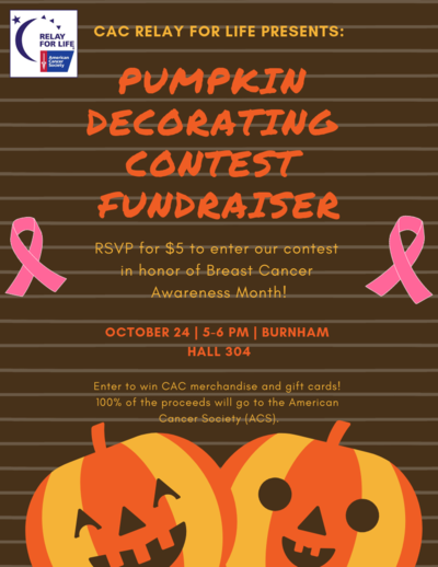 Colleges Against Cancer Pumpkin Carving Fundraiser Oct 24 Uic