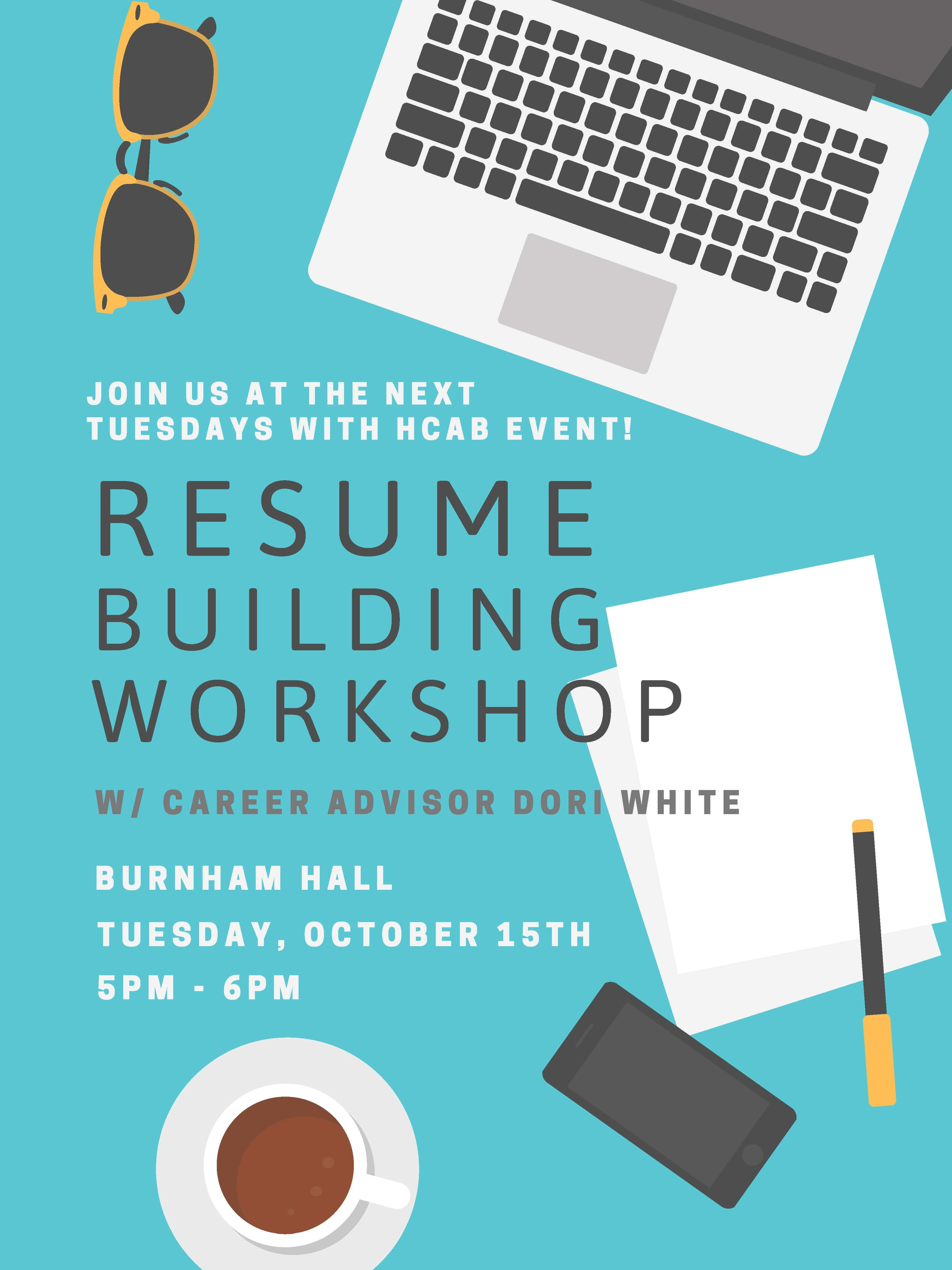 Honors College Resume Building Workshop 10 15 Uic