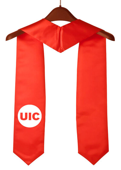 UIC-Red-Graduation-Stole